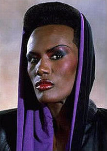 Schwarze Schauspielerin